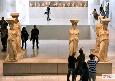 ATHENS IN A DAY TOUR ACROPOLIS MUSEUM CARYATIDS