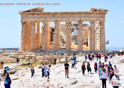 ATHENS IN A DAY TOUR ACROPOLIS PARTHENON