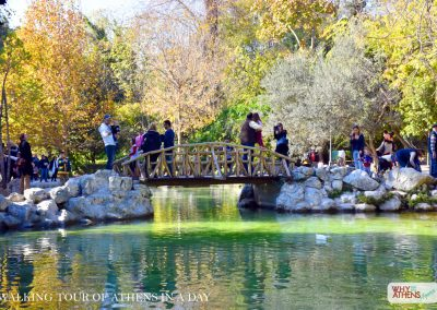 ATHENS IN A DAY TOUR NATIONAL GARDENS