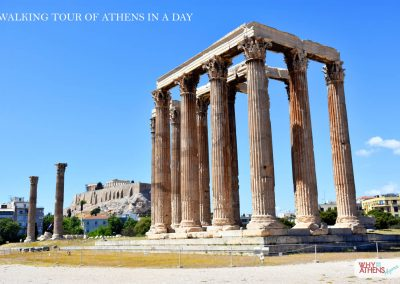 ATHENS IN A DAY TOUR OLYMPIAN ZEUS