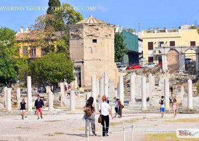ATHENS IN A DAY TOUR ROMAN AGORA