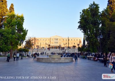 ATHENS IN A DAY TOUR SYNTAGMA SQUARE PARLIAMENT