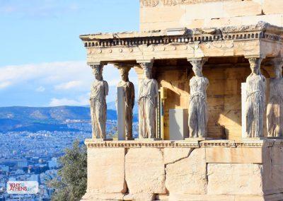Acropolis Ancient Agora Walking Tour Caryatids