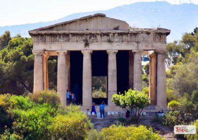 Acropolis Ancient Agora Walking Tour Hephaestus II