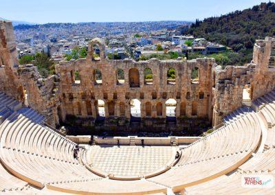 Acropolis Ancient Agora Walking Tour Odeon Herodes
