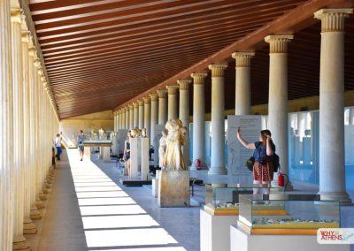 Acropolis Ancient Agora Walking Tour Stoa Attalos I