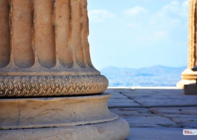 Acropolis Athens Photography Tour Ionic Column