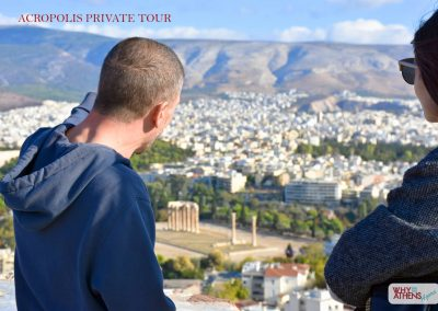 Athens Acropolis Tour Families Belvedere View