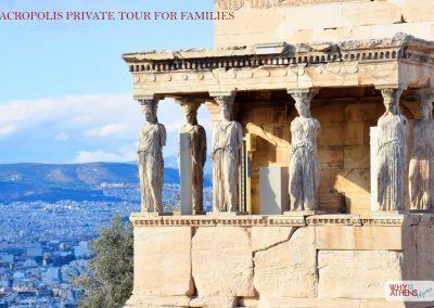 Athens Acropolis Tour Families Caryatids III