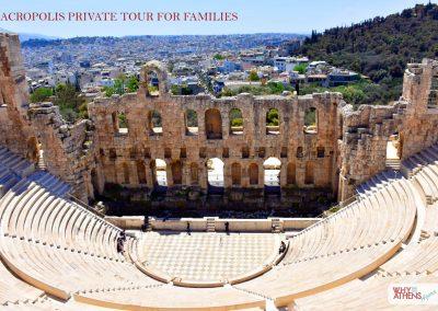 Athens Acropolis Tour Families Odeon Herodes