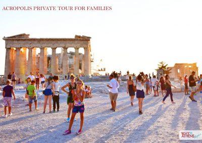 Athens Acropolis Tour Families Parthenon Space