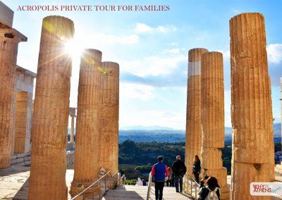 Athens Acropolis Tour Families Propylaea Stairs I