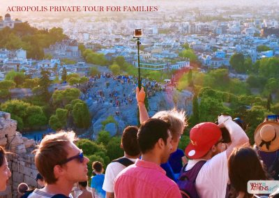 Athens Acropolis Tour Families Top Crowd