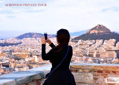 Athens Acropolis Tour View