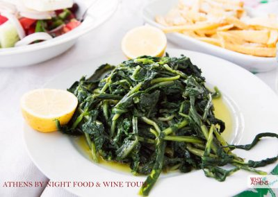 Athens By Night Food Wine Tour Horta