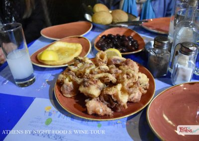 Athens By Night Food Wine Tour Mezedes
