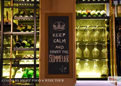Athens By Night Food Wine Tour Sommelier
