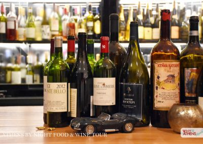 Athens By Night Food Wine Tour Wine Bar