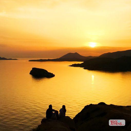 Temple Poseidon Sunset Cape Sounio