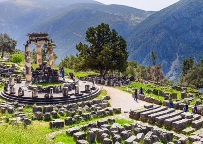 ATHENA PRONAIA SANCTUARY & THE THOLOS