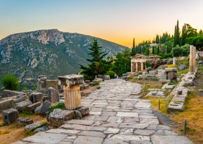 ATHENIAN TREASURY AT DELPHI