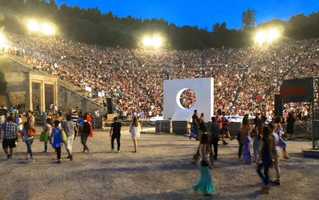 Ancient Theatre Epidaurus Bus Transfer Athens Festival