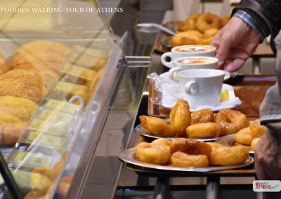 FOODIES TOUR OF ATHENS LOUKOUMADES DONUTS