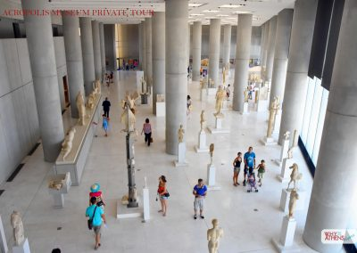 Guided Tour Acropolis Museum Archaic Gallery