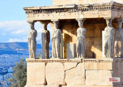CARYATIDS - PORCH OF THE MAIDENS
