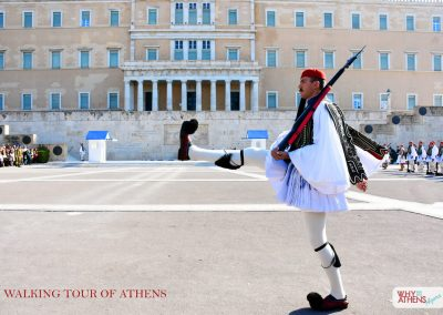 HALF DAY TOUR OF ATHENS EVZONE MARCHING PS