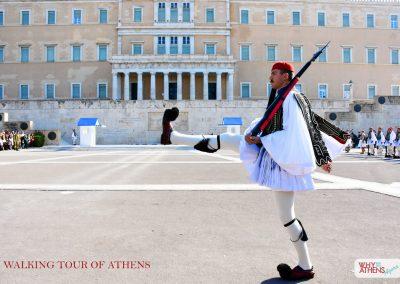 HALF DAY WALKING TOUR OF ATHENS EVZONE