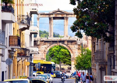 HALF DAY TOUR OF ATHENS HADRIANS ARCH