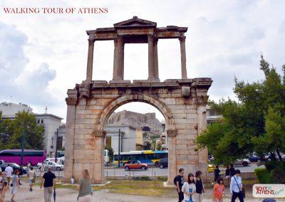 HALF DAY WALKING TOUR OF ATHENS HADRIANS ARCH