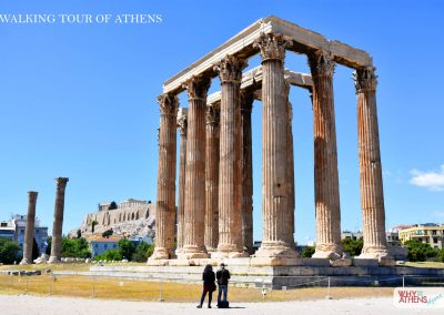 HALF DAY WALKING TOUR OF ATHENS OLYMPIAN ZEUS