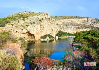 Lake Vouliagmeni Limestone Cavern