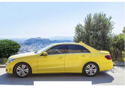 Mercedes Taxi Athens Transfers
