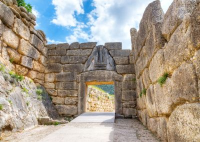 LION'S GATE OF MYCENAE