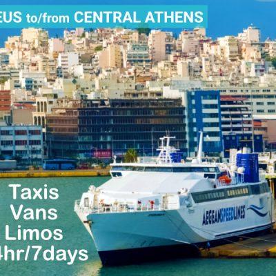 Piraeus Port Transfer Central Athens