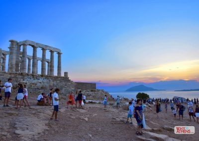 Sunset - Temple of Poseidon